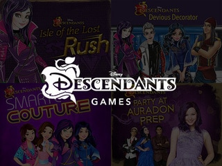 descendants - Toddler Games Online Free Disney