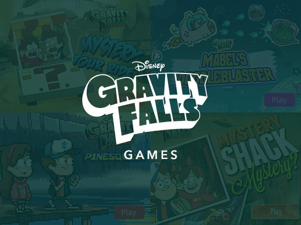 New Game Category - Gravity Falls