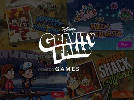 Games Categories - Gravity Falls