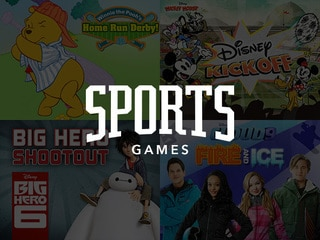 sports games - Free Disney Games For 4 Year Olds