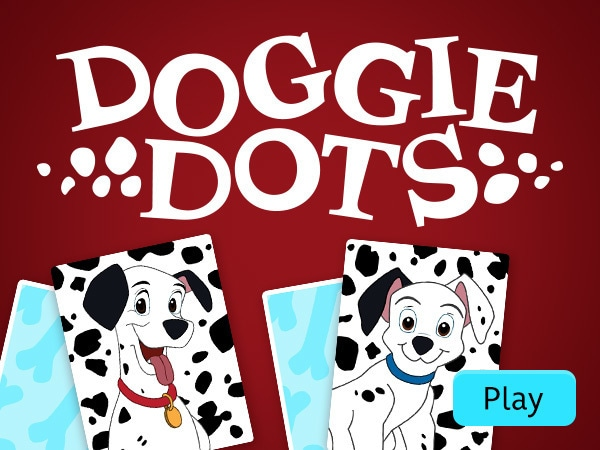 Doggie Dots Memory Game