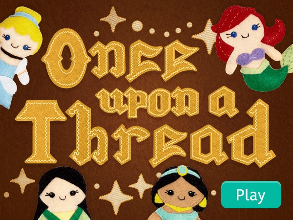 Once Upon A Thread Sticker Book