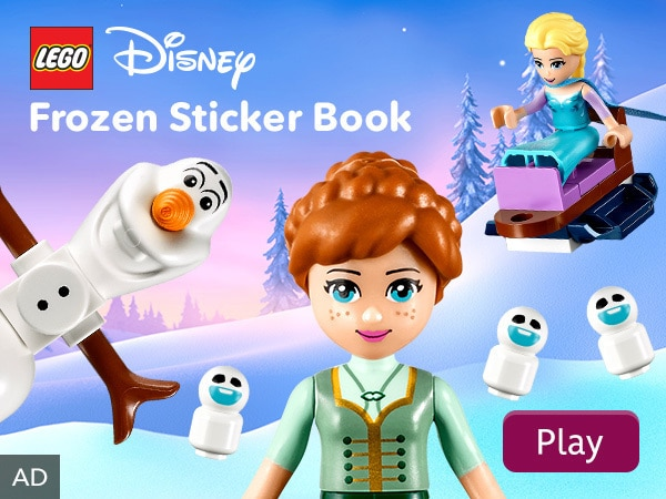LEGO Disney Frozen Sticker Book
