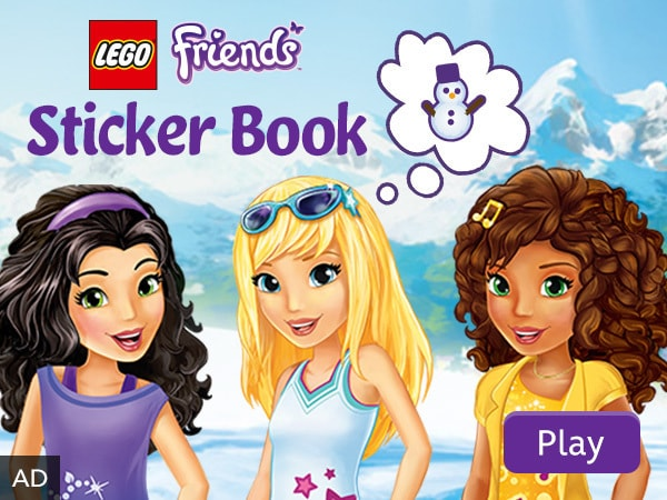 LEGO Friends Sticker Book