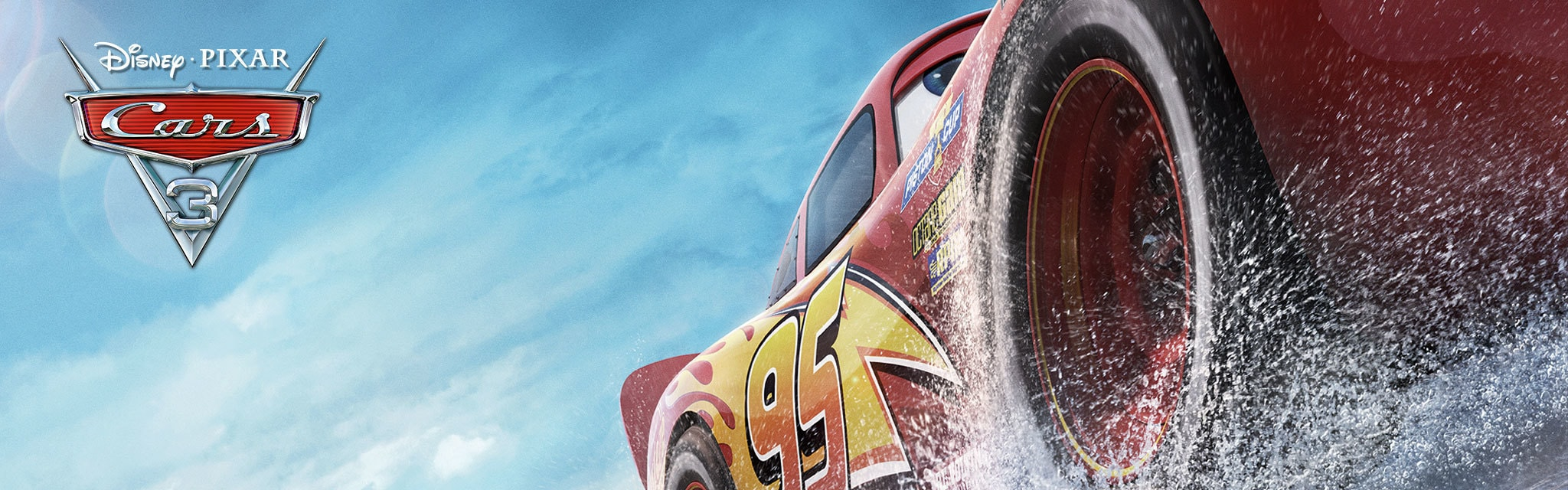 Cars 3 Get Showtimes - Hero