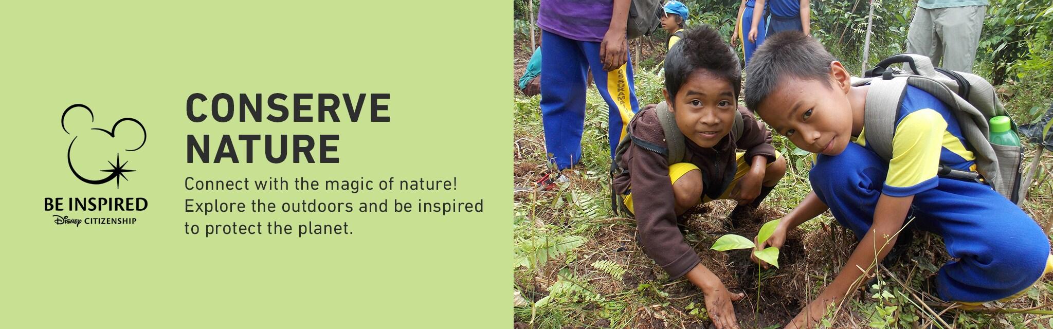 Conserve Nature Hero