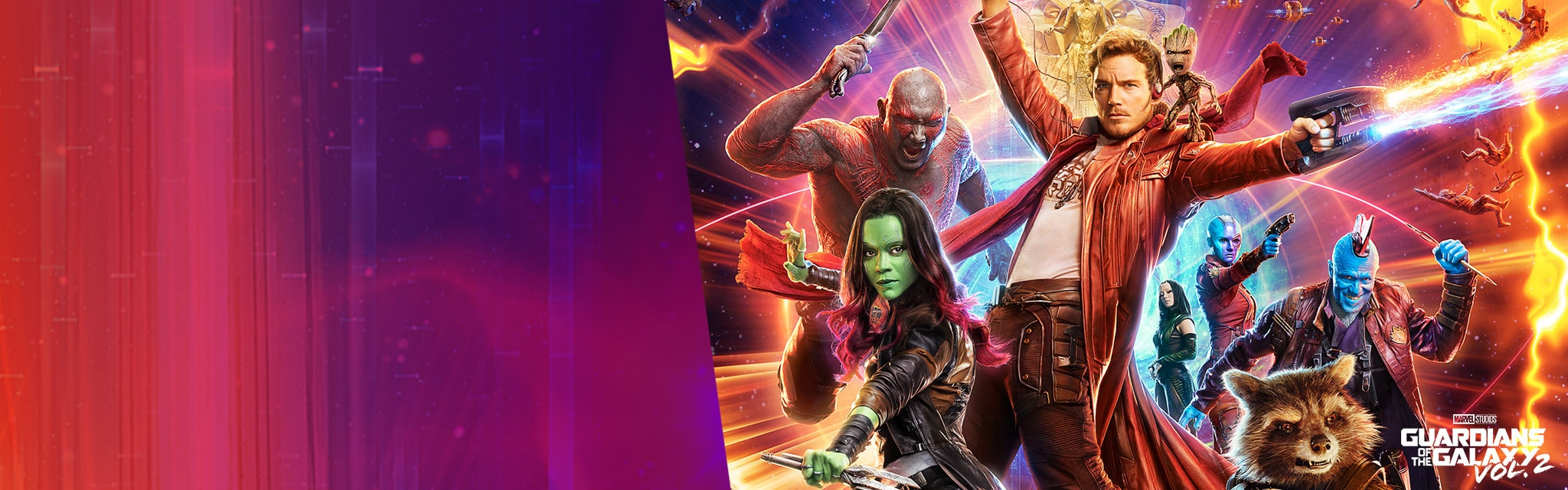 "Guardians of the Galaxy ""In Cinemas"" Hero - SG, MY"