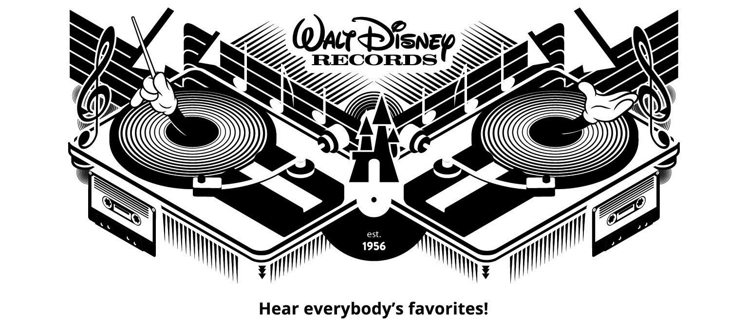 Walt Disney Records Hear everyone's favorites