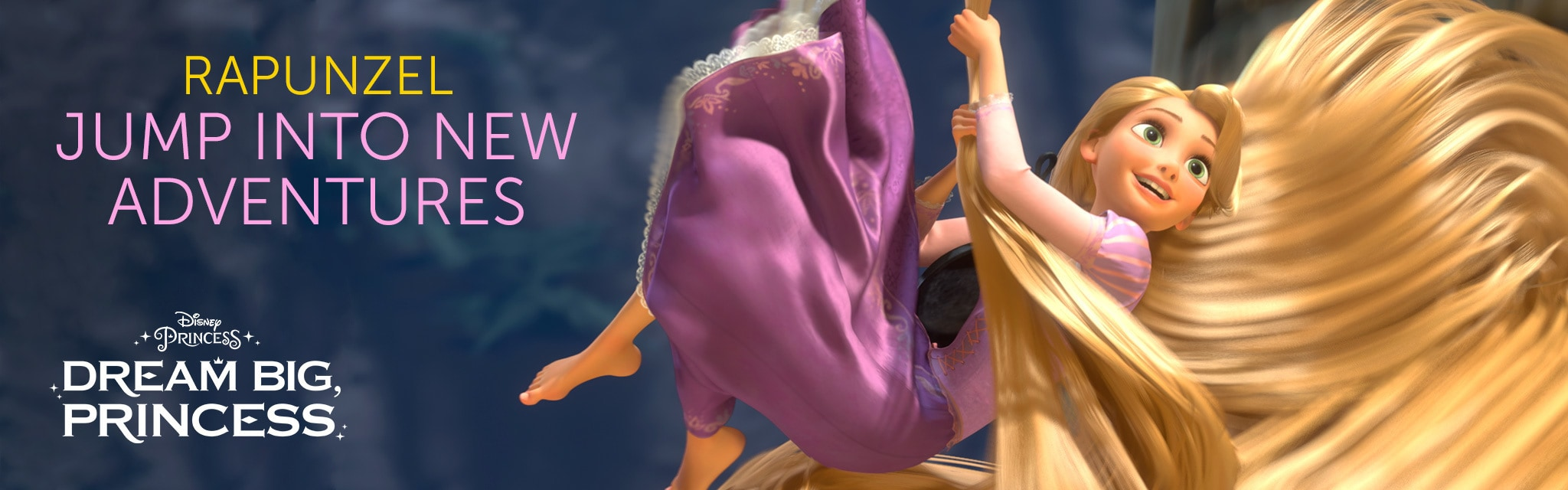 Rapunzel - Jump Into New Adventures