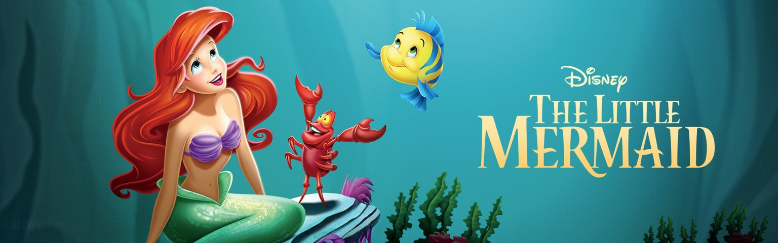 Little Mermaid Movie Home Hero