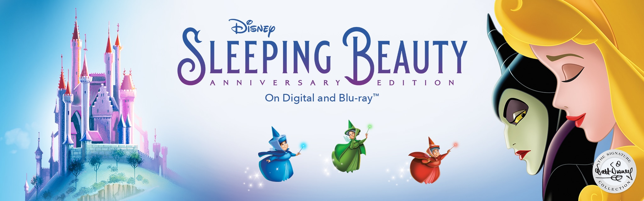 Disney Sleeping Beauty Anniversary Edition - On Digital and Blu-ray™