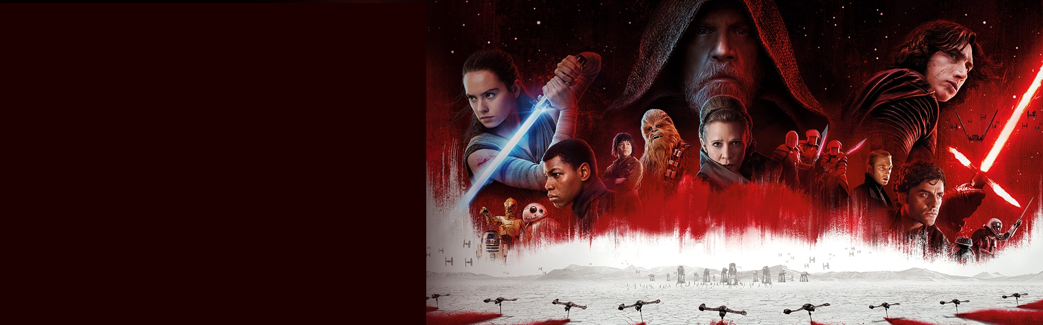 Star Wars - The Last Jedi- Get Tickets - Hero