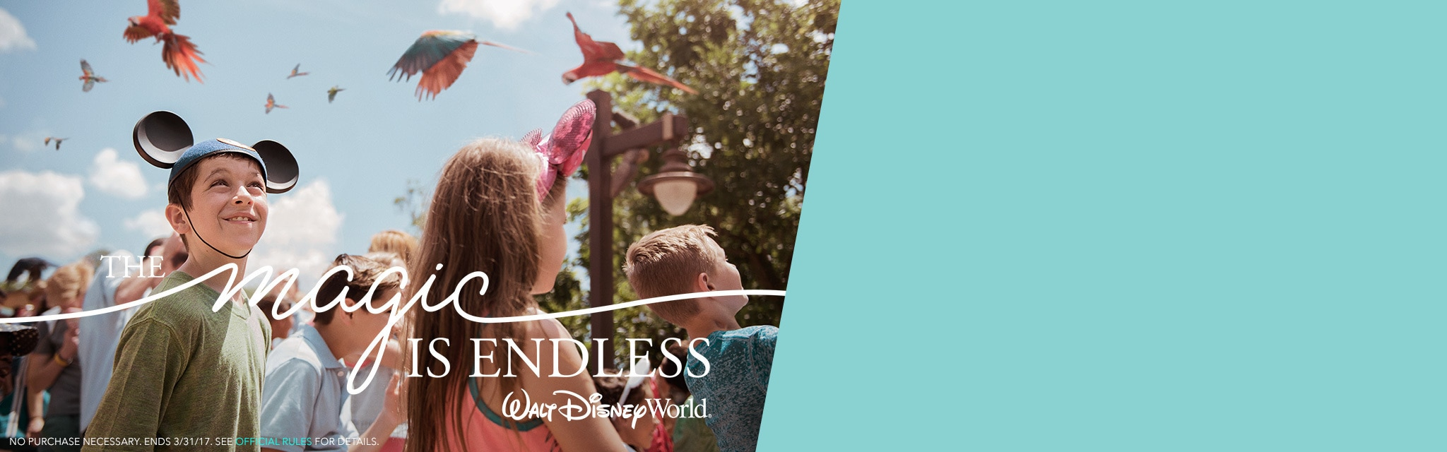 Disney Parks - WDW | Be Our Guest to Endless Magic Sweepstakes - Hero