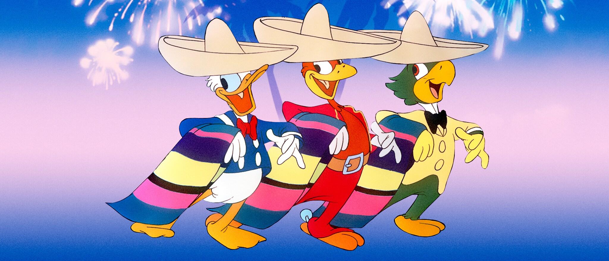 The Three Caballeros Hero