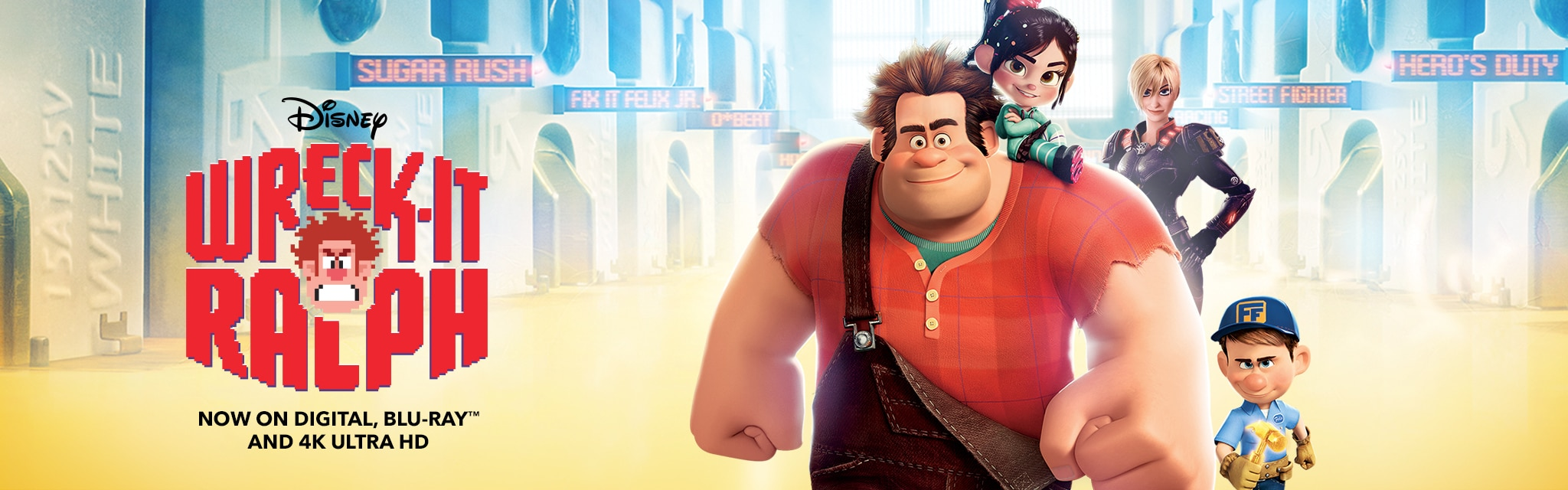 Wreck It Ralph-Homepage Update