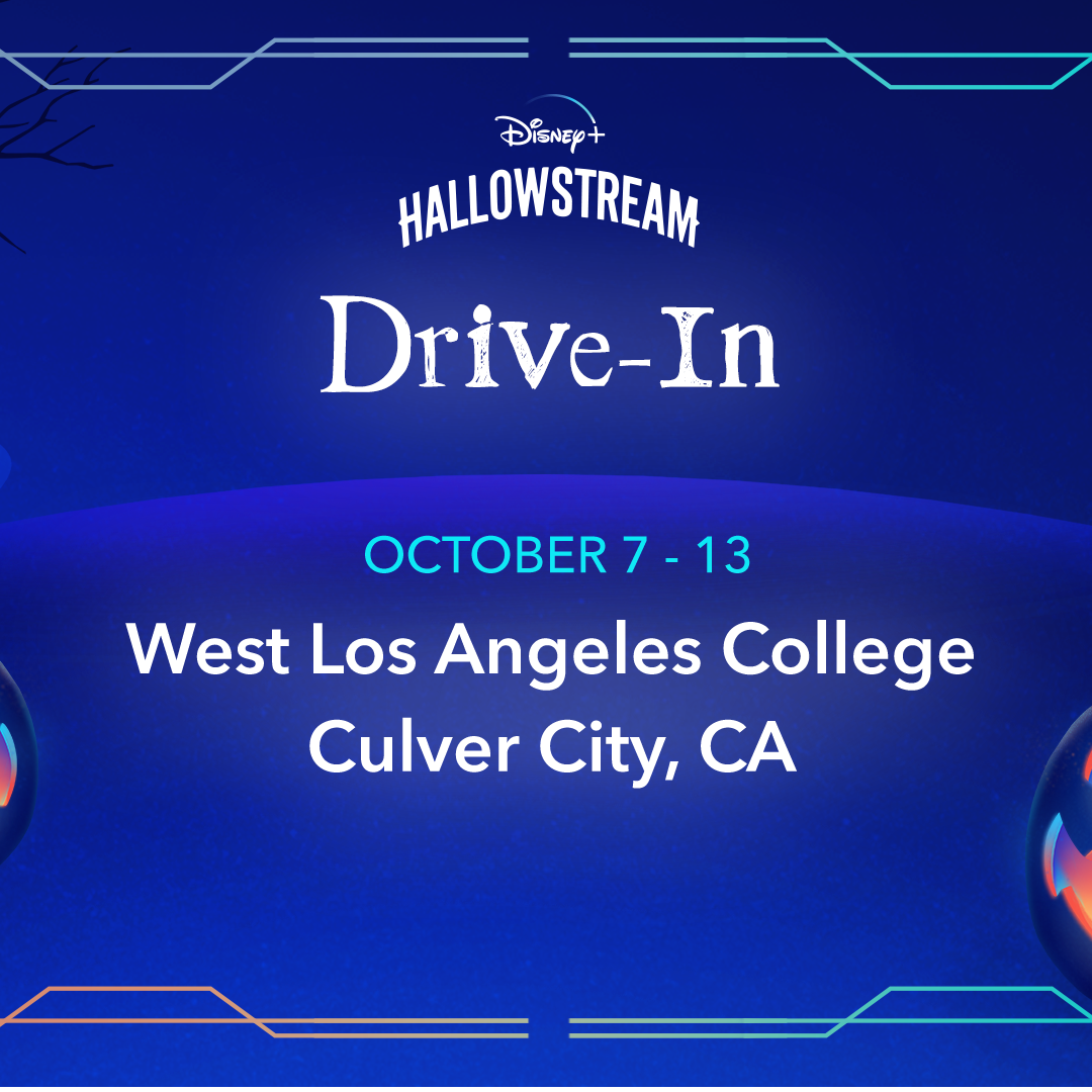 Disney+ Brings Tricks And Treats To Los Angeles At Hallowstream Drive-In Screening Series October 7-13, 2021