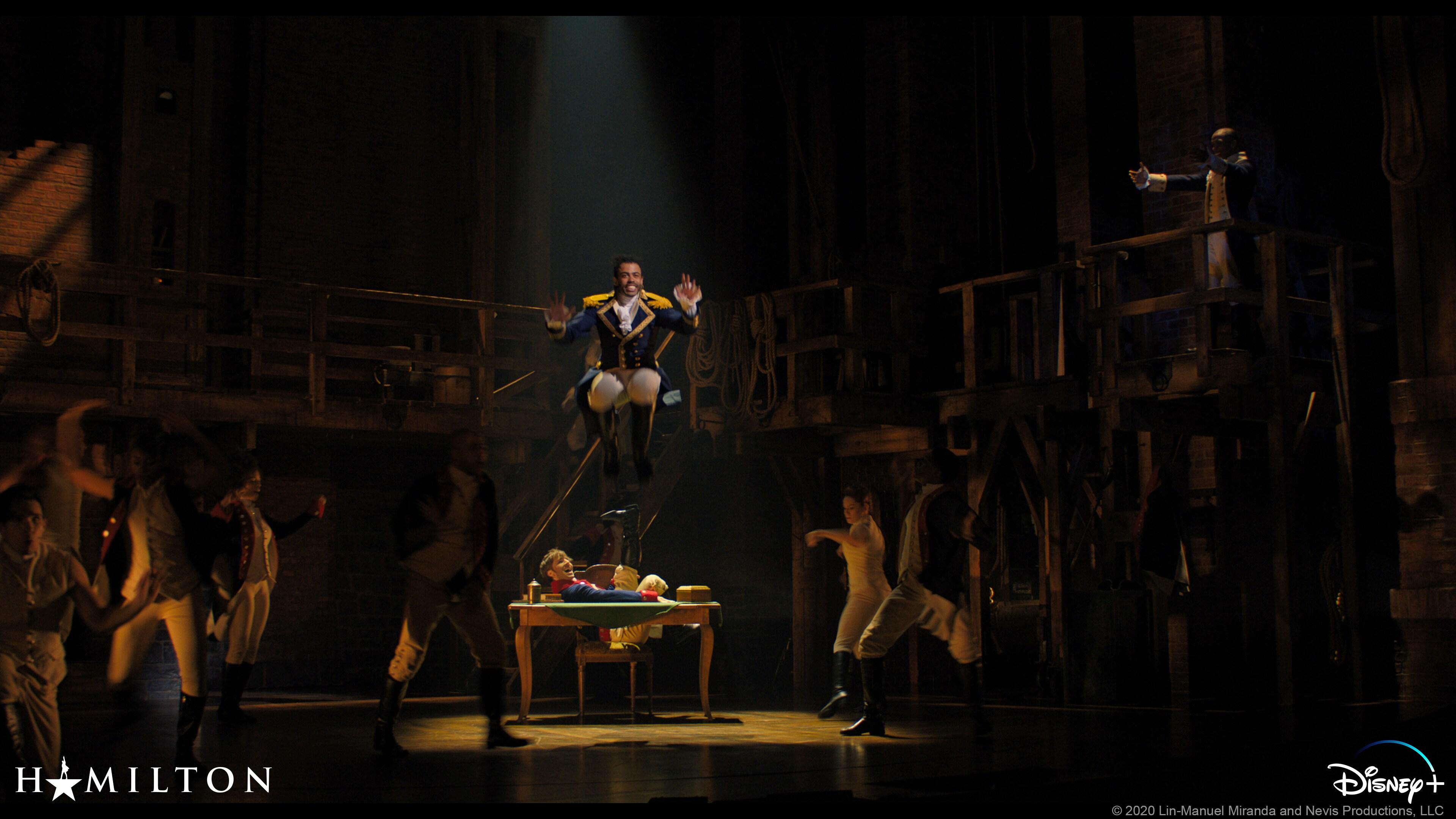 "Marquis de Lafayette (Daveed Diggs) em ""Ships and Guns"""