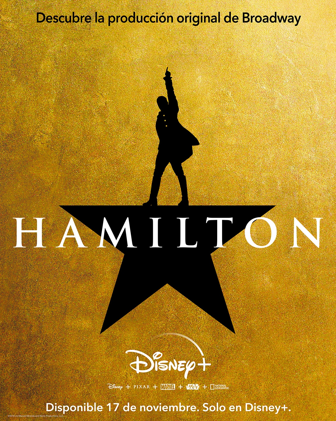 Hamilton | Disponible en Disney+