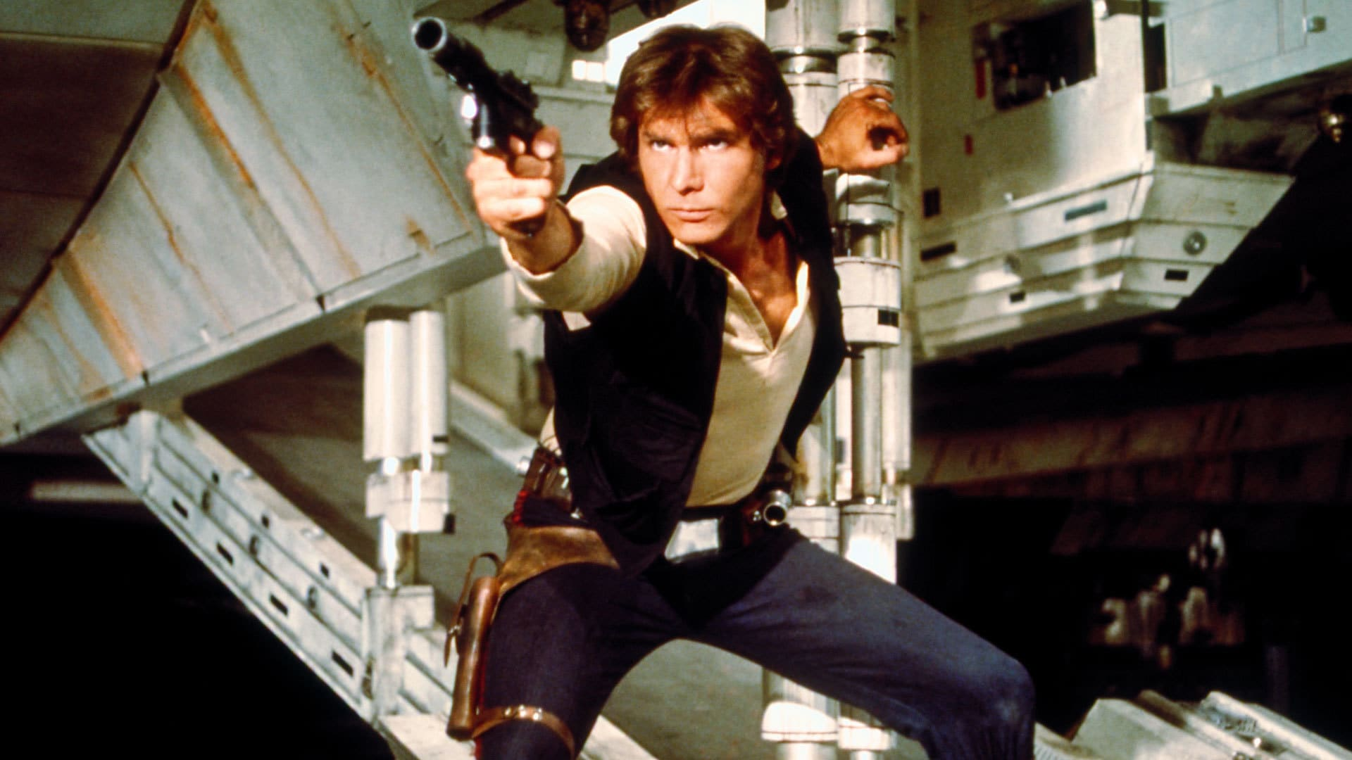 Star Wars Galactic Heroes A New Hope Luke W// Blaster Death Star Escape