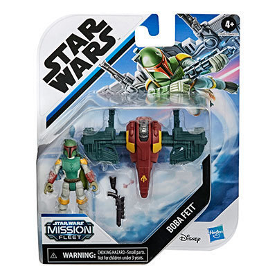 Hasbro® Star Wars Mission Fleet Boba Fett Capture in the Clouds