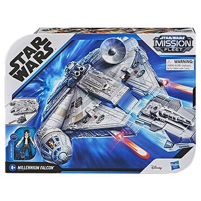 Hasbro® Star Wars Mission Fleet Han Solo Millennium Falcon