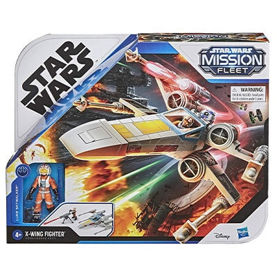 Hasbro® Star Wars Mission Fleet Luke Skywalker X-wing Fighter