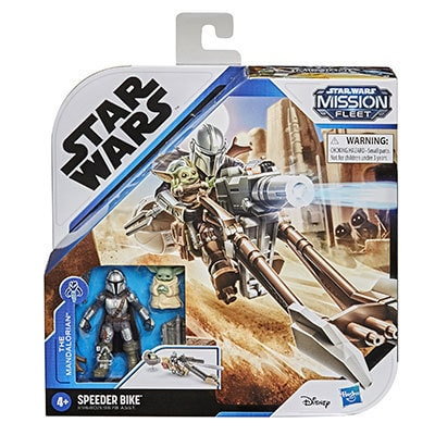Hasbro® Star Wars Mission Fleet The Mandalorian The Child Battle for the Bounty