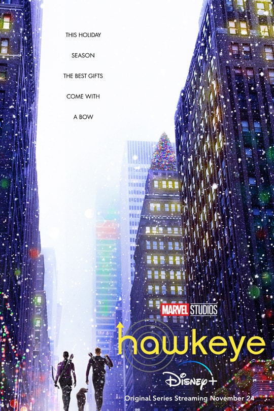 Hawkeye   now streaming