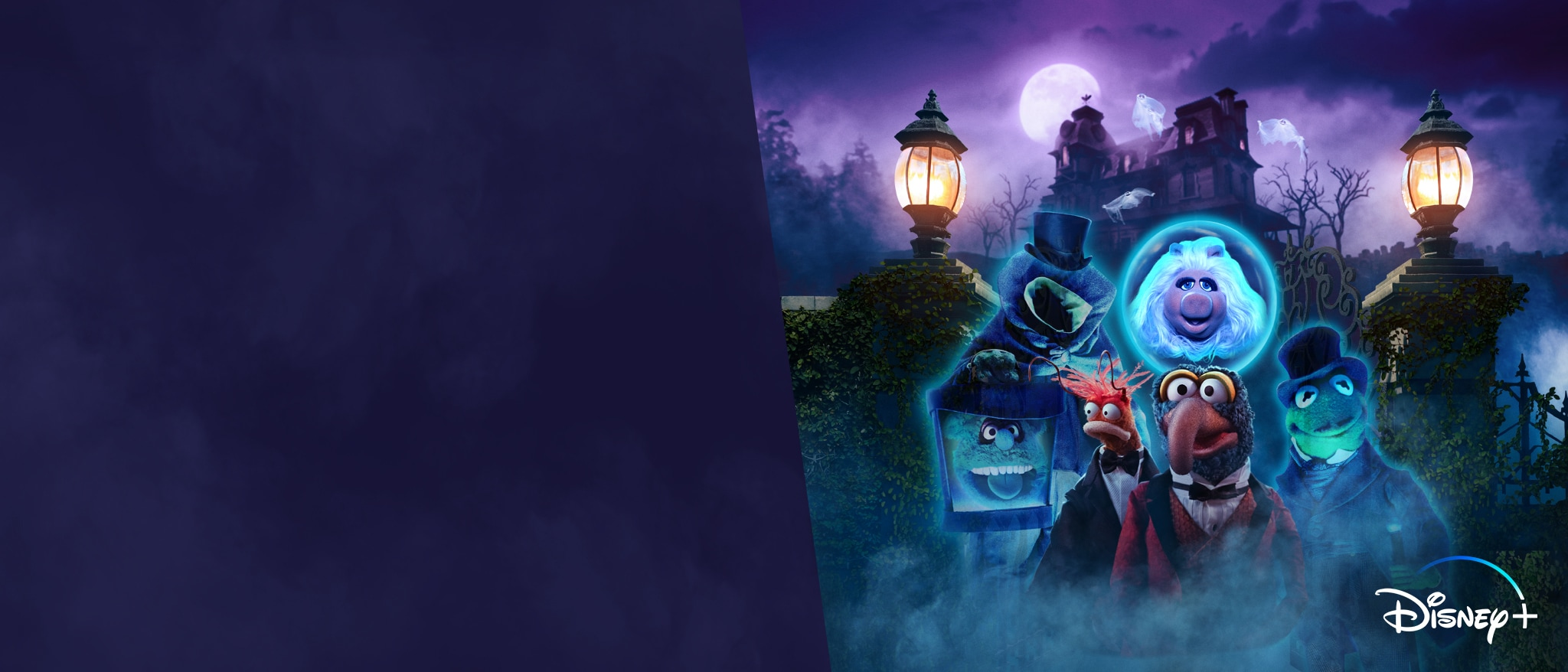 Hero - Disney+ - Muppets Haunted Mansion Now Streaming