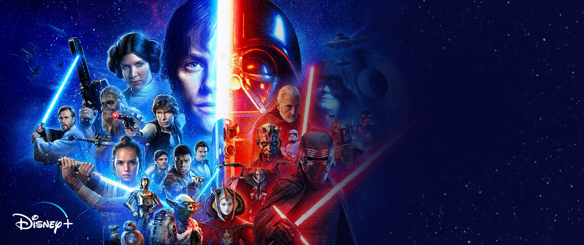 Star Wars: la saga completa è finalmente disponibile | Disney IT