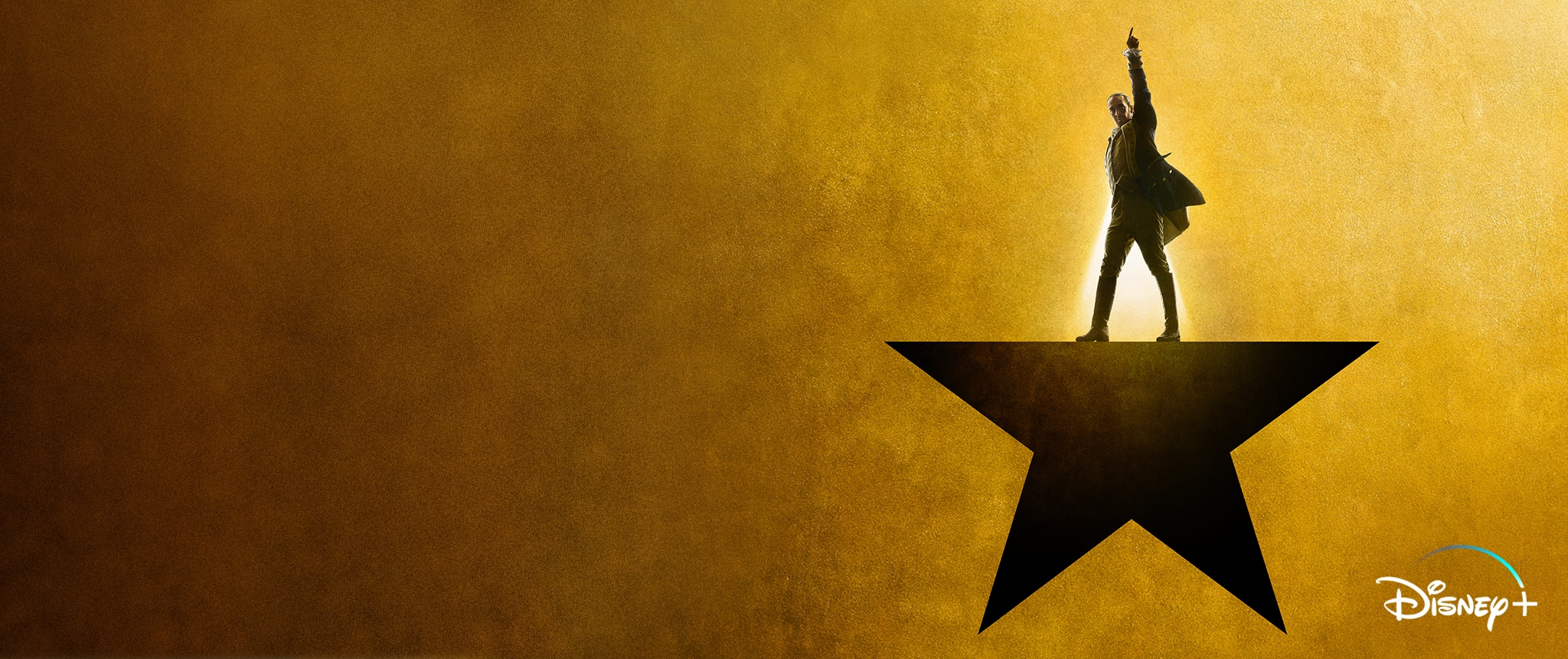 Hero - Disney+ - Hamilton Now Streaming on Disney+ (New Keyart)