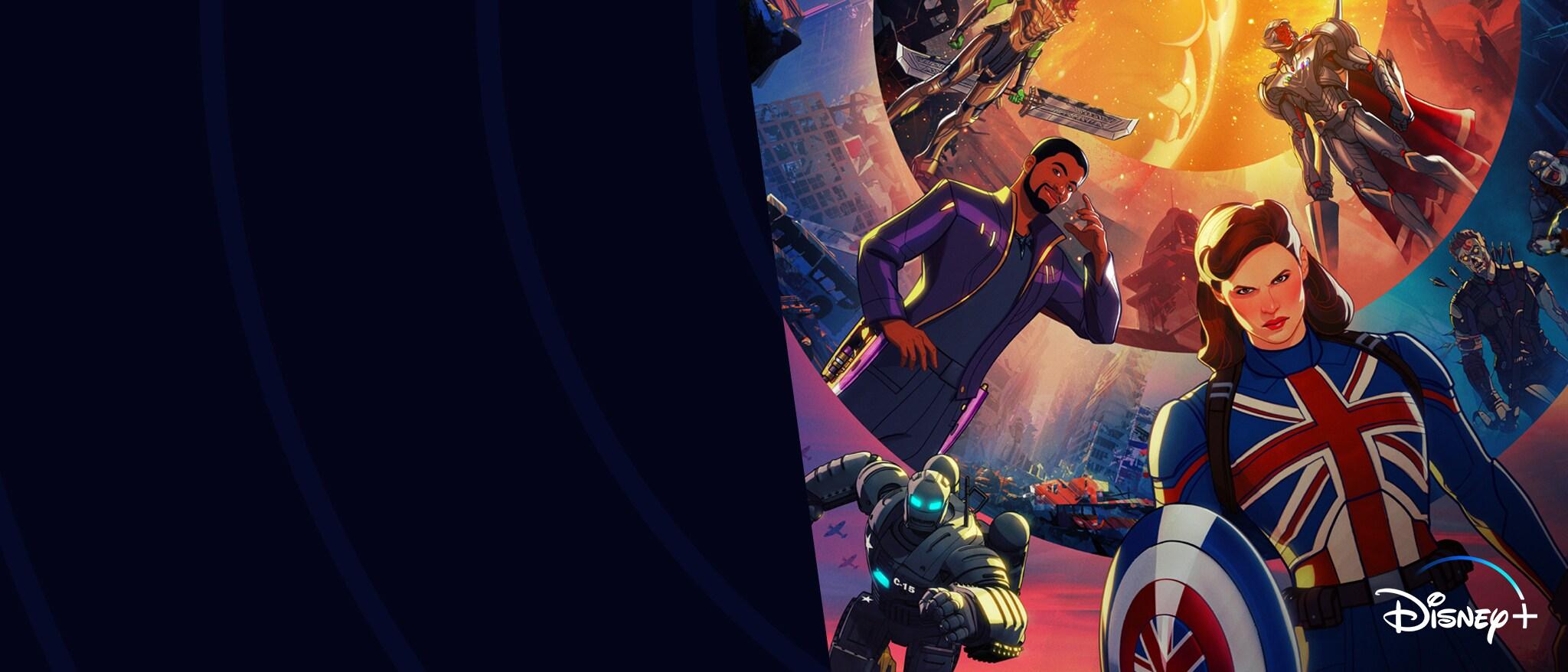 Hero - Disney+ - Marvel Studios' What If…? Now Streaming