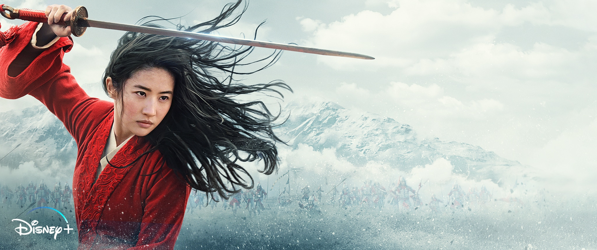 Hero - Disney+ - Mulan (2020) Streaming Exclusively on Disney+