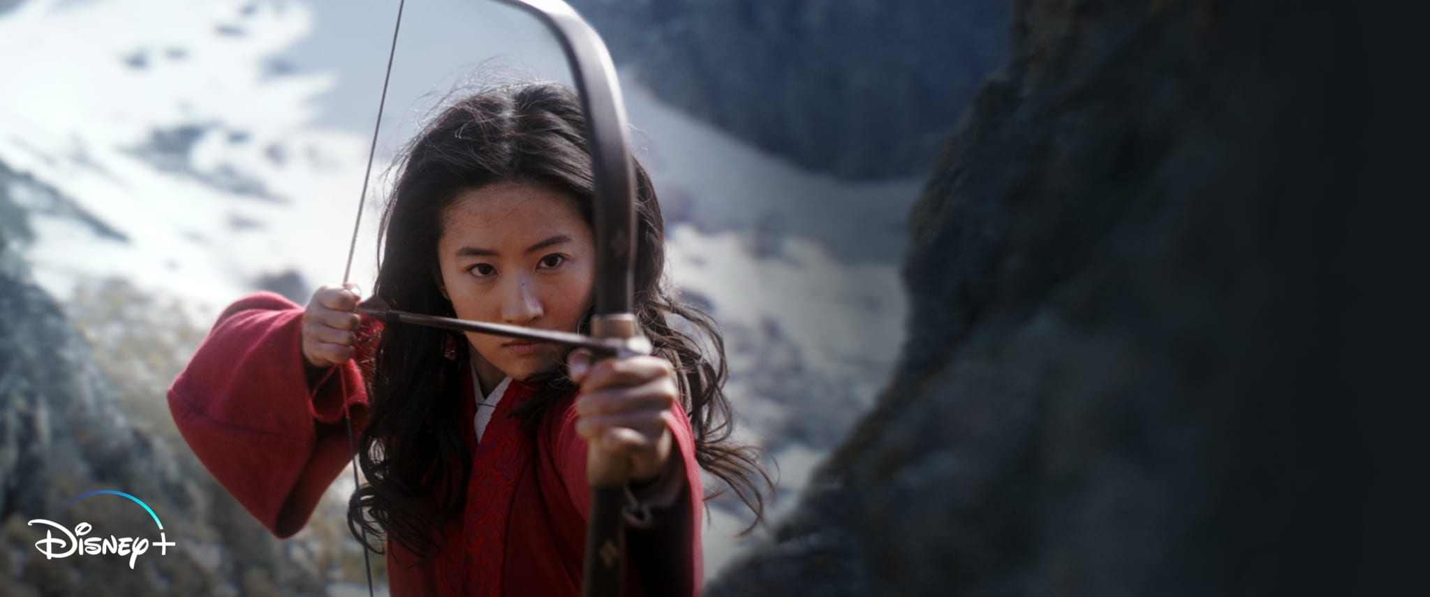 Mulan (2020) movie page hero **12/4 NOW STREAMING ON DISNEY+ [D+ LOGO UPDATE (NON PREMIER ACCESS)]**