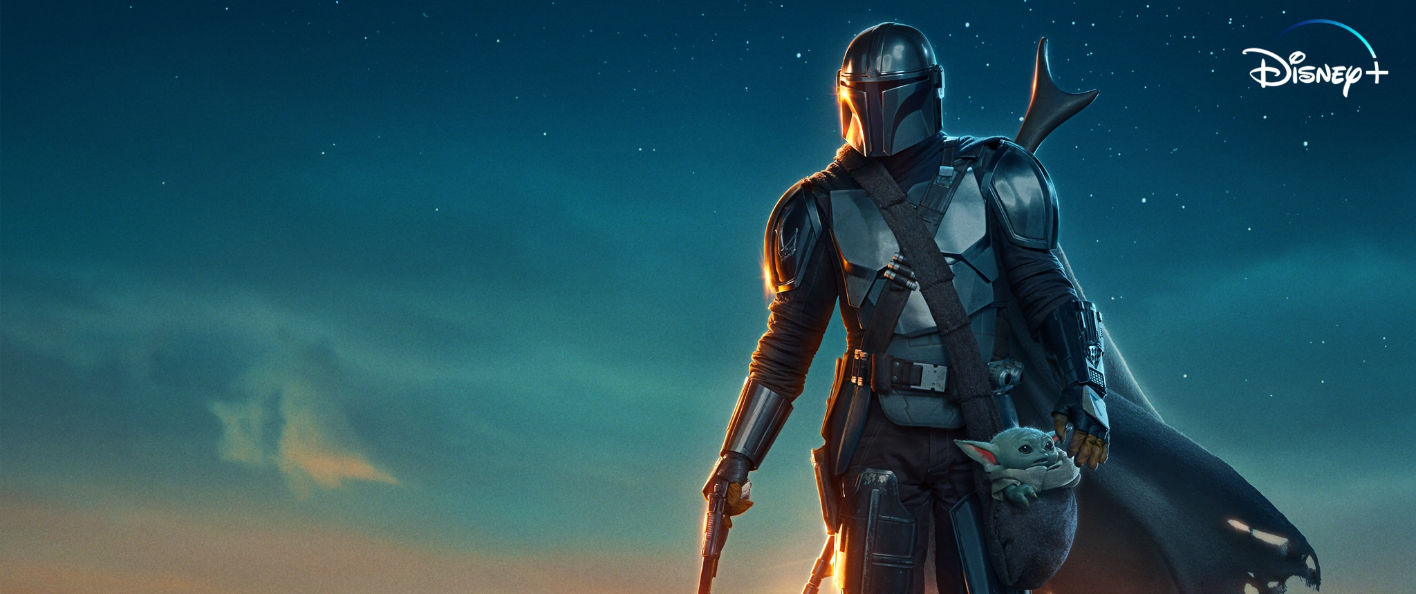 Hero - Disney+ - The Mandalorian Takeover - MOBILE ONLY HERO