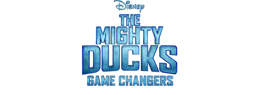 The Mighty Ducks: Game Changers logo on Disney Plus