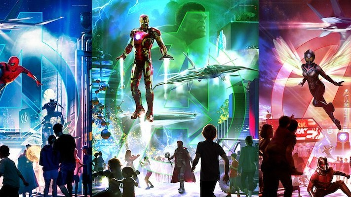 New Super Hero-Themed Areas Are Coming to Disneyland Resort, Disneyland Paris, and Hong Kong Disneyland