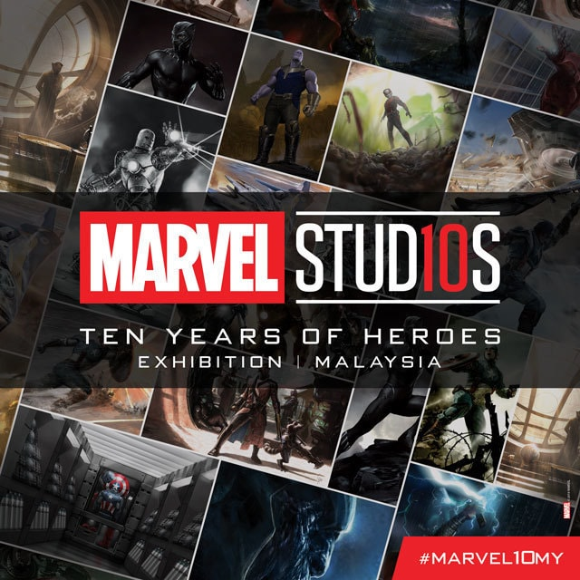 Marvel Studios: Ten Years of Heroes Exhibition | Malaysia