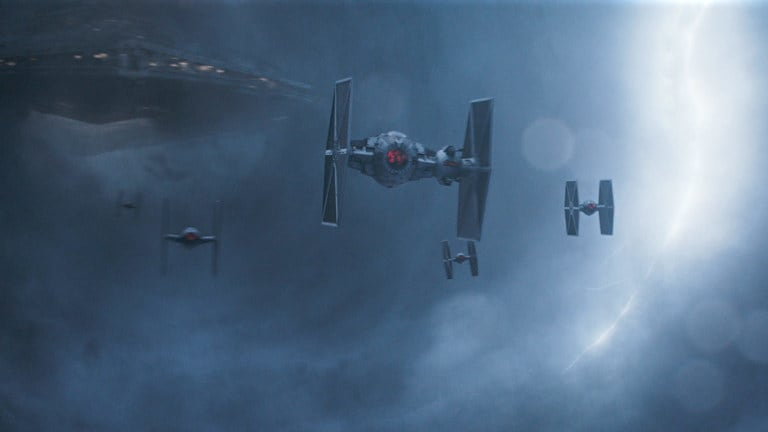 Imperial heavy TIE fighter