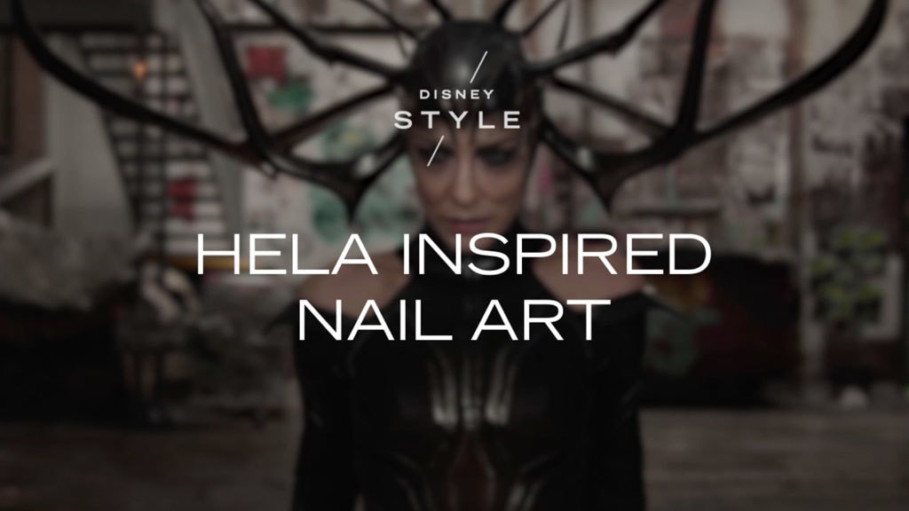 Be Hela Cool With This Hela-Inspired Nail Art Look | Disney Style