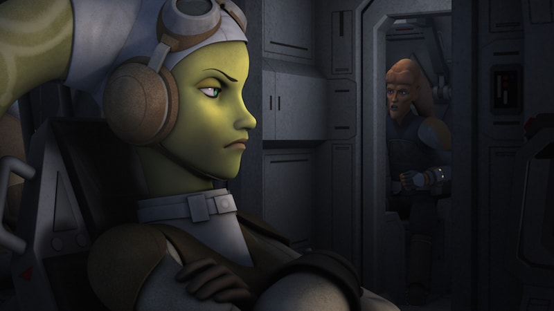 Hera and Cham Syndulla working together