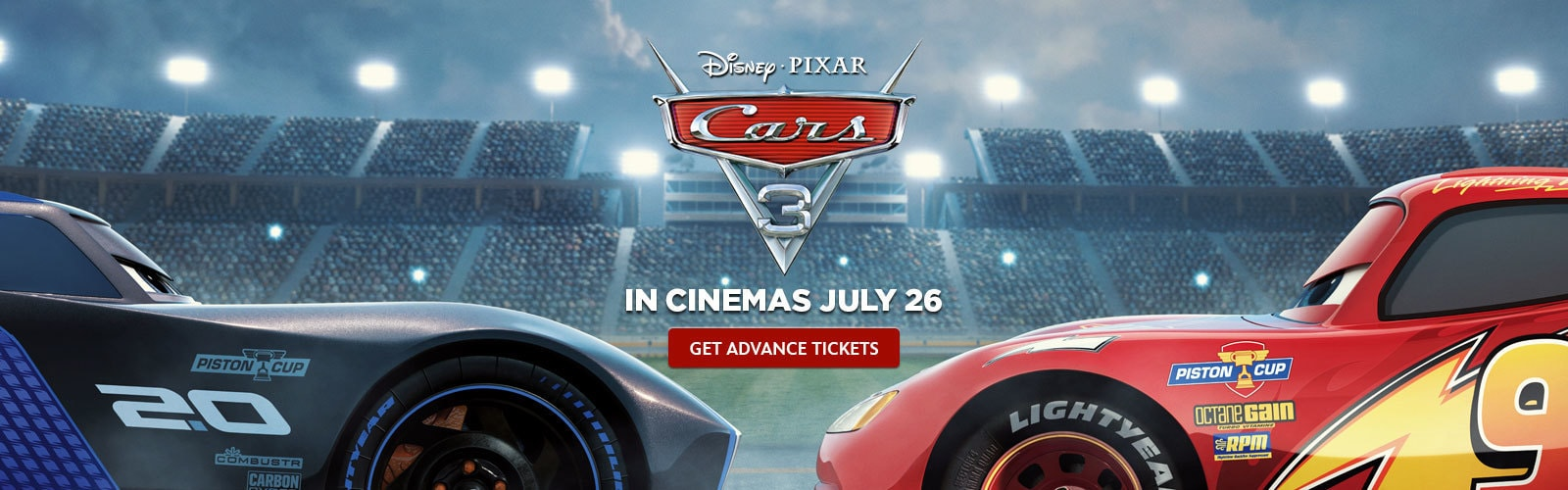 Car 3 Advance Tickets Hero - PH