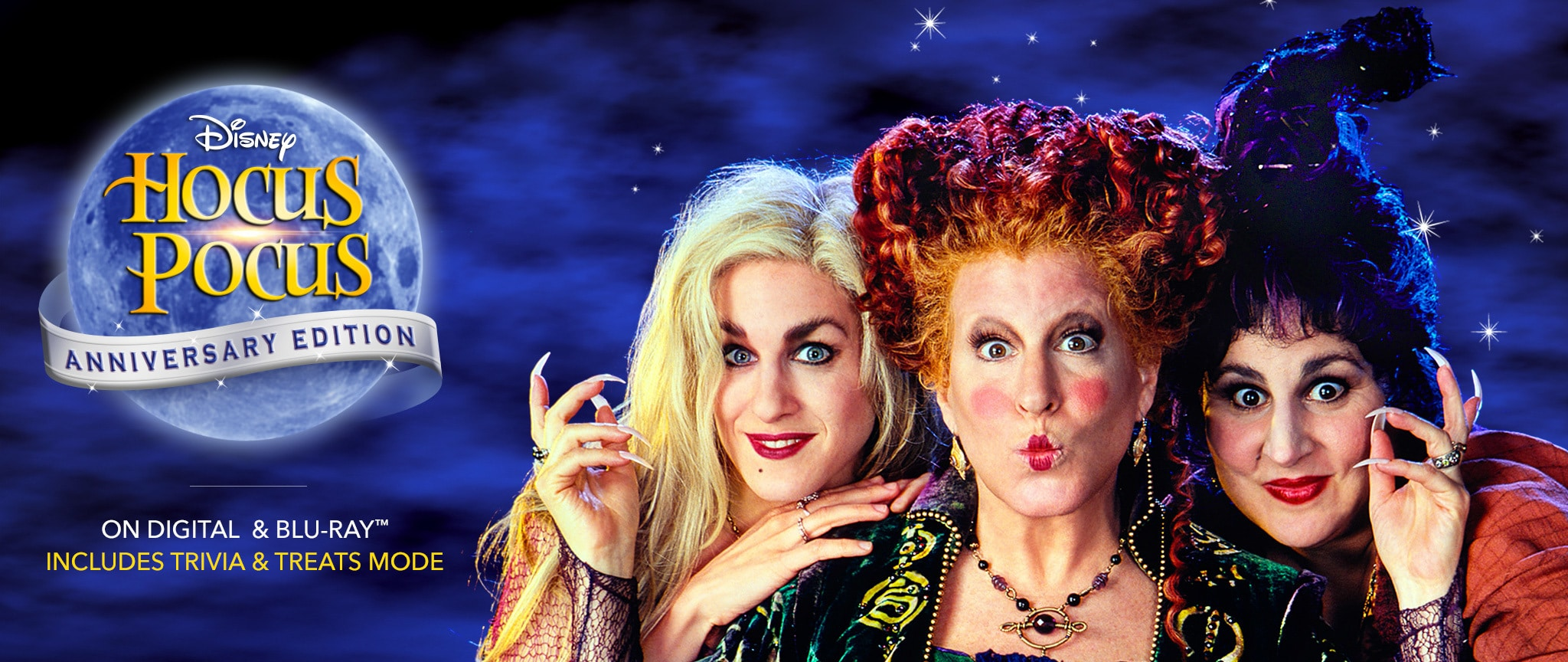 Hocus Pocus Anniversary Edition - On Digital And Blu-Ray(TM) - Includes Trivia And Treats Mode