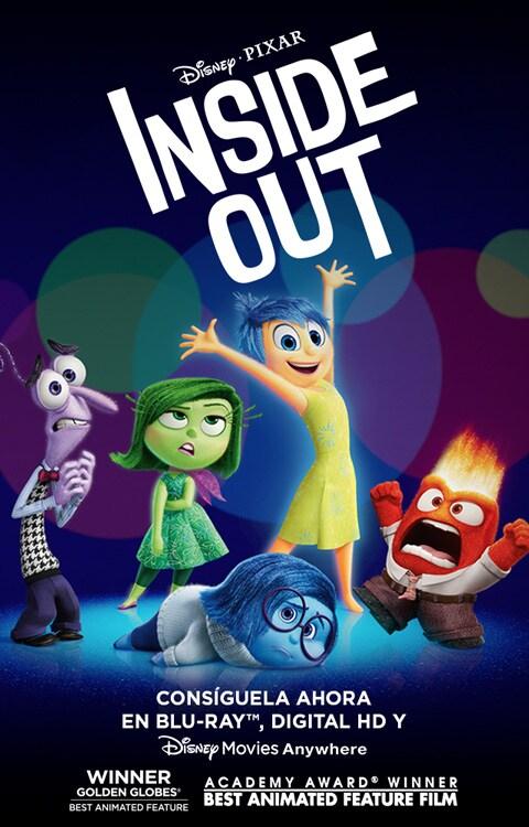 Inside Out | Página oficial | Películas Disney ¡Ajá!