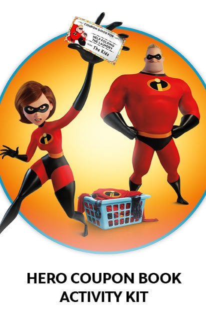 The Incredibles 2 - Hero Coupon Book