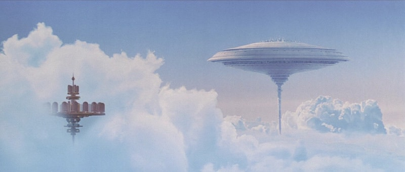 Cloud City above Bespin