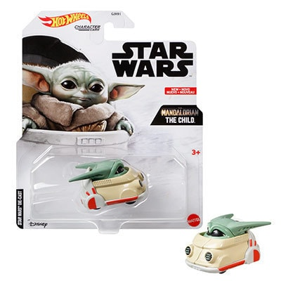 Hot Wheels Star Wars The Child Character Car