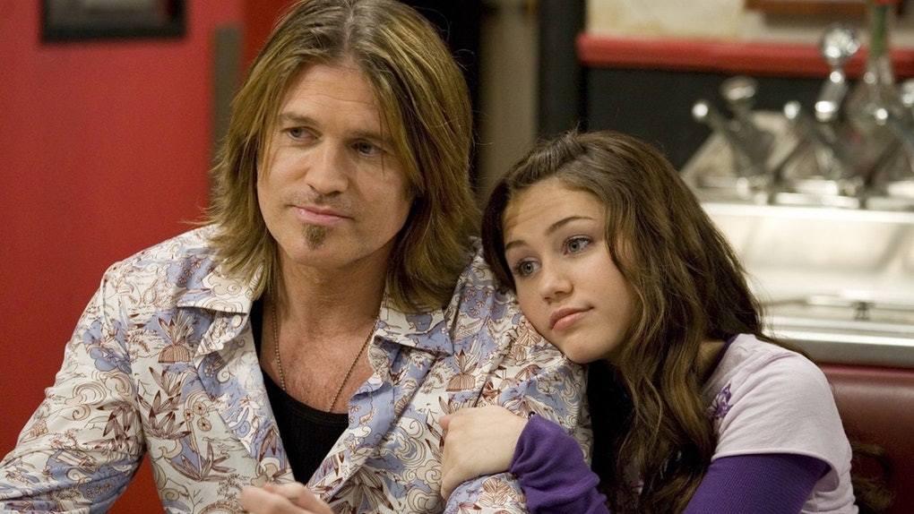 Billy Ray y Miley Cyrus