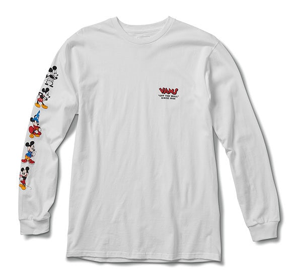 Mickey Through the Decades Long Sleeve Tee