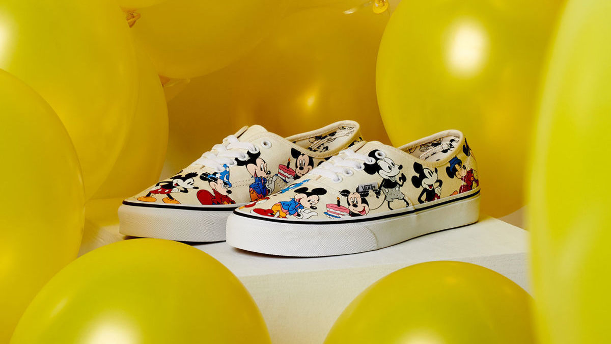 We Are Definitely Adding These Mickey Mouse Vans to Our Growing Collection
